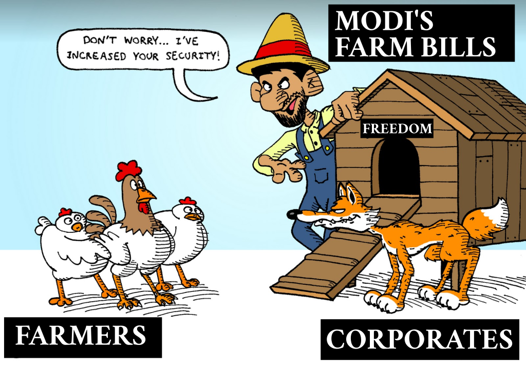 MIRROR — Farmer union's rebuttal of Indian Govt lies